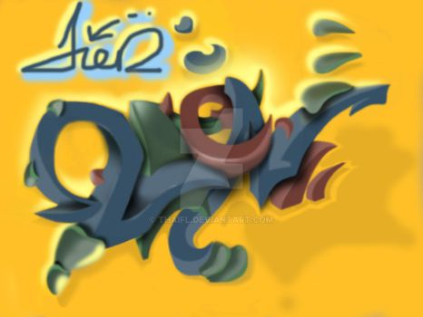Aien swing tag by thaifl