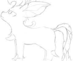 leafeon revisited by Brownie-Bytes