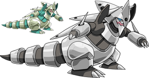 306 - Mega Aggron by Tails19950