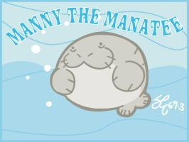 Manny the Manatee by shane613