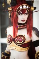 Alexstrasza the lifebinder. by TineMarieRiis