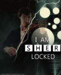 I am SHERlocked  by TheRavenArt