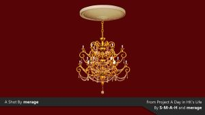 Chandelier by merage
