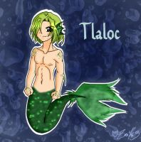 Tlaloc - colored by zoro4me3