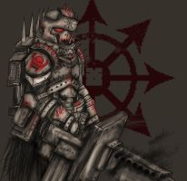 Chaos Imperial Guard by Taurus-ChaosLord