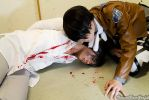 Shingenki No Kyojin Cosplay - Eren and Rivaille by K-I-M-I
