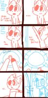 Foxy's Mirror 1-4: How does it work by Cookie-and-her-foxes
