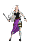 Collab: Lissi the Sylph Rogue by musicscifigirl