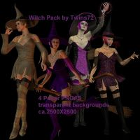 stock witch pack by Twins72