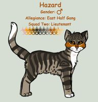 Lieutenant Hazard ref by InvaderTigerstar