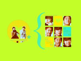 Wallpaper YOOSU many face by OumBoJae