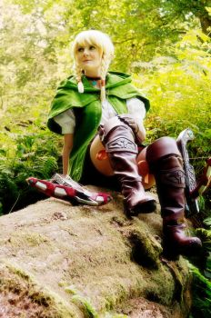 Linkle Cosplay - Hyrule Warriors Legends by Fall3nW1ngs