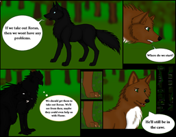 Role-play Comic Page 1 (2012) by CherrySapphire