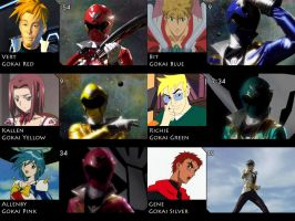 Gokaiger - Crossover Team by EX388