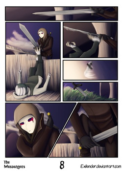 The Messengers pg 8 by Exilender