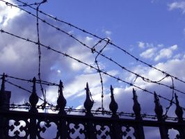 Graveyard Fence by Rosary0fSighs