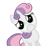 Sweetie Belle - OnO by Psalmie