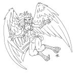 Pirate Harpy by ProdigyDuck