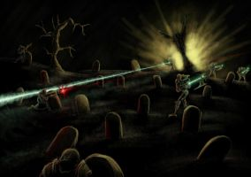 Wh40K: Graveyard Skirmish by StugMeister