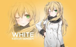 Kekkai Sensen White by AssassinWarrior