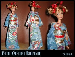 Sewing - Bon-Odori Barbie by MauserGirl