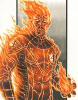 Fantastic 4: The Human Torch by smlshin