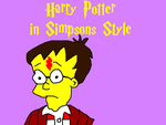 Harry Potter in Simpsons Style by MikeEddyAdmirer89