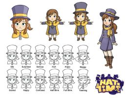 Hat Kid Designs by LuigiL