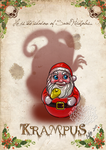 Krampus card 2 by MecaniqueFairy