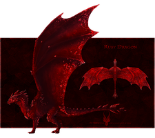 $.Ruby.$ - Gem Dragon for Sale! [OPEN] by Diterkha