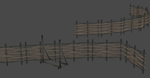 SKYRIM FENCES by OoFiLoO
