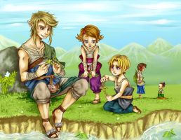 TLoZ Twilight Princess - Innocent days by Rebe-chan-vk