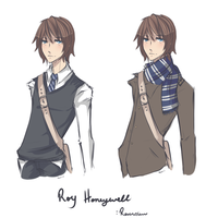 Roy Honeywell by Reverrii