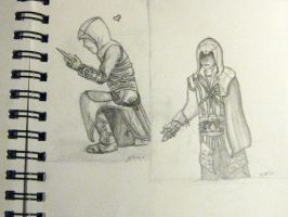 Altair and Ezio by Ramrum