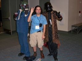 ORD with Vader and Bobba Fett by OneRadicalDude