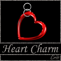Cris Heart Charm by only1crisana