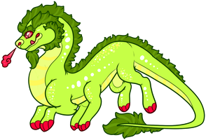 Caterpillar Dragon Name Your Price Adopt CLOSED by guIIs