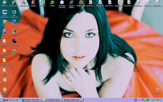 My Desktop by Nothing-Ive-Become