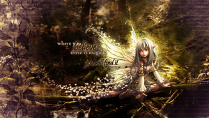 Fairy Wallpaper by xxHappyHippyxx