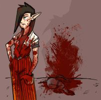 A Bloody Mess by bassooniac