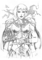 Clare (Claymore)A1 by kitamoto13