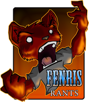 Fenris Rants Sticker by Kraden
