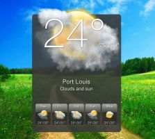 HTC Hero Widget HD 2 for xwidget by jimking