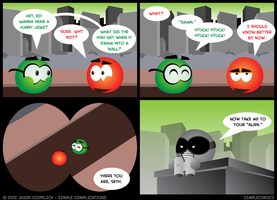 SC345 - Seth Joke IX by simpleCOMICS