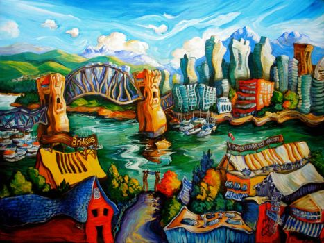 Granville Island IV by Laurazee