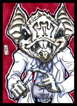 Sketch Card-A-Day 2013: 043 by lordmesa