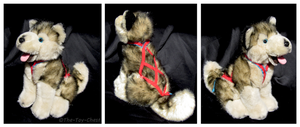 Kipmik - Alaskan Sled Dog Plush by The-Toy-Chest
