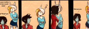 Fionna marshall lee comic strip by mokomar
