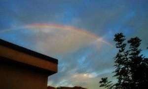 Somewhere over the rainbow by irenesevenh