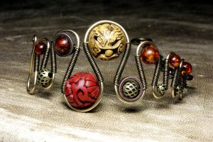 Dragon Bracelet Eternal Life by CatherinetteRings
